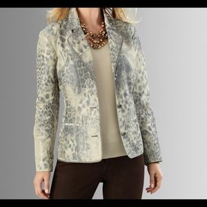 Chico's Animal Intuition Becky Jacket, SZ 3